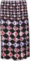 Emilio Pucci Geometric Pattern Skirt