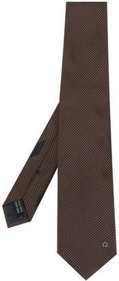 Salvatore Ferragamo Logo Embroidered Tie