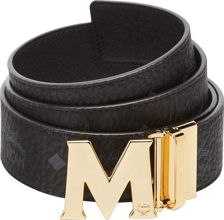 "MCM Claus Reversible Belt 1.75"" In Visetos"