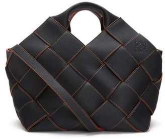 Loewe Woven Leather Tote