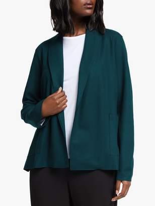 Eileen Fisher Short Kimono Jacket, Blue Spruce