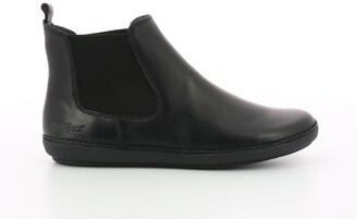 Kickers Fantin Leather Chelsea Ankle Boots