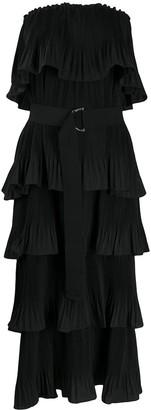 Essentiel Antwerp Valentina pleated column dress