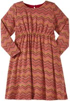 Pink Chicken Betsy Dress (Toddler/Kid) - Cerise Pink Zigzag-2 Years