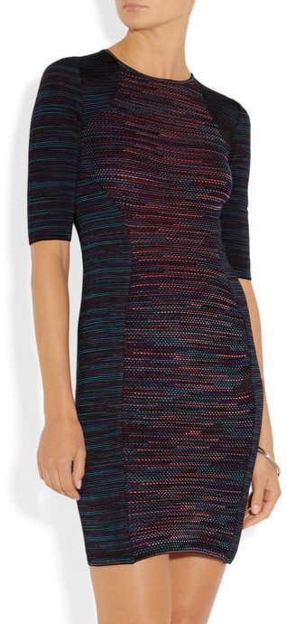 M Missoni Stretch-knit sheath dress