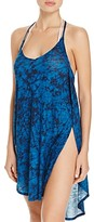 Lucky Brand Batik Chic Dress Swim Cover-Up