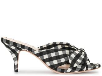Loeffler Randall Luisa gingham-check sandals