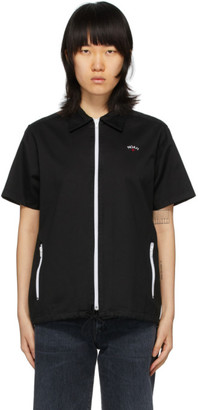 Noah NYC Black Zip Work Shirt