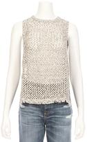 Line Casey Open Knit Sweater