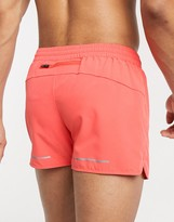Asos 4505 running shorts in coral