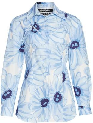 Jacquemus La Chemise Valensole Floral Cotton Shirt