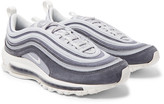 Nike - Air Max 97 Nubuck, Leather And Mesh Sneakers