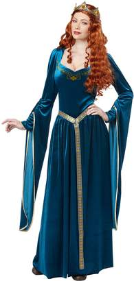 California Costumes Women's Lady Guinevere Costume/Teal Small
