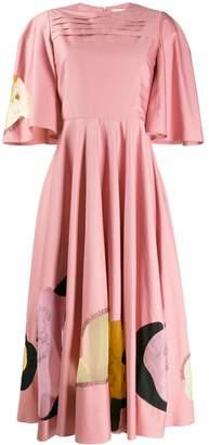 Roksanda flared midi dress