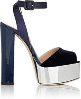 Giuseppe Zanotti Women's Velvet & Satin Platform Sandals