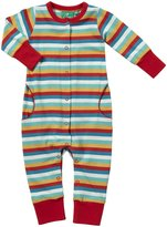 Little Green Radicals 'Multi Talented' Playsuit (Baby) - Spring Rainbow-0-3 Months