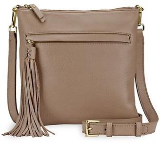 GiGi New York Scout Leather Crossbody Bag