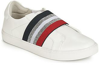 Elue par nous ESSORE women's Slip-ons (Shoes) in White