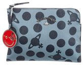 Vivienne Westwood Print Leather Clutch