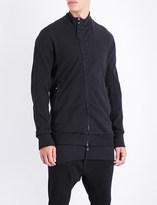 Boris Bidjan Saberi Stand-collar cotton-jersey jacket