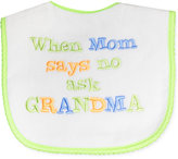 First Impressions Baby Girls' or Baby Boys' Message Bib
