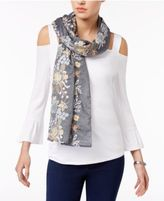 INC International Concepts Embroidered Floral Scarf, Created for Macy's