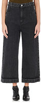 3.1 Phillip Lim Women's Lace-Up Wide-Leg Jeans