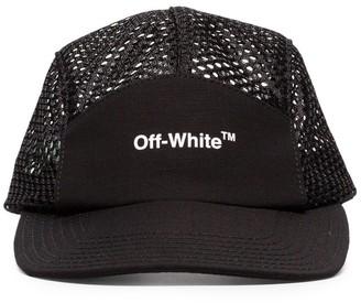 Off-White Logo-Print Mesh Cap