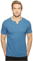 Lucky Brand Button Notch Tee Men's T Shirt