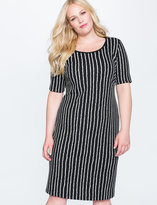 ELOQUII Plus Size Easy Midi Dress