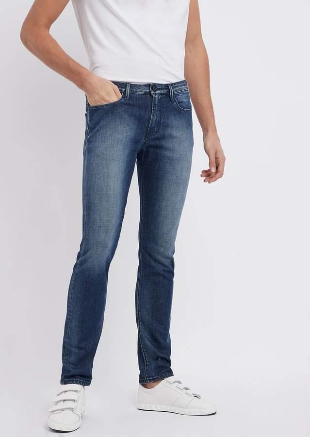 27c8cfedc1 Slim-Fit J06 Denim Jeans In 12 Oz Cotton Twill