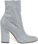 Valentino Block-heel patent-leather ankle boots