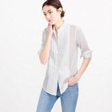 Thomas Mason Collection tuxedo shirt in cotton voile