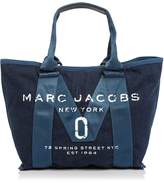 Marc Jacobs Logo Small Denim Tote