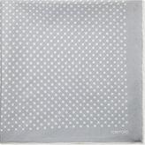Tom Ford Polka-dot silk pocket square