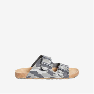 Joe Fresh Kid Boys' Double Strap Sandals, Grey Mix (Size 5)