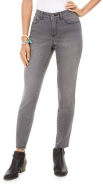 Style&Co. Style & Co Petite Rhinestone-Embellished Tummy-Control Jeans, Created For Macy's