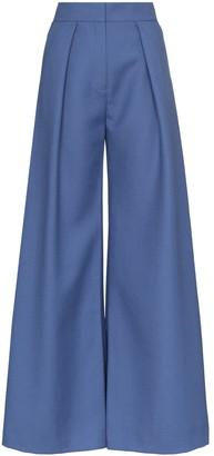 Vika Gazinskaya High-Rise Flared Trousers
