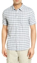 Quiksilver Men's Waterman Collection Wake Sport Shirt
