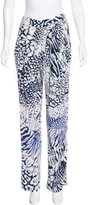 Rebecca Minkoff Silk Printed Pants