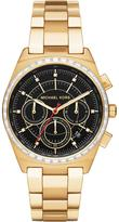 MICHAEL Michael Kors 38mm Vail Chronograph Watch, Golden/Black