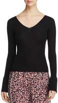 DKNY Bell Sleeve Wool Sweater