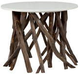 Jeffan Natura Side Table with Round Top