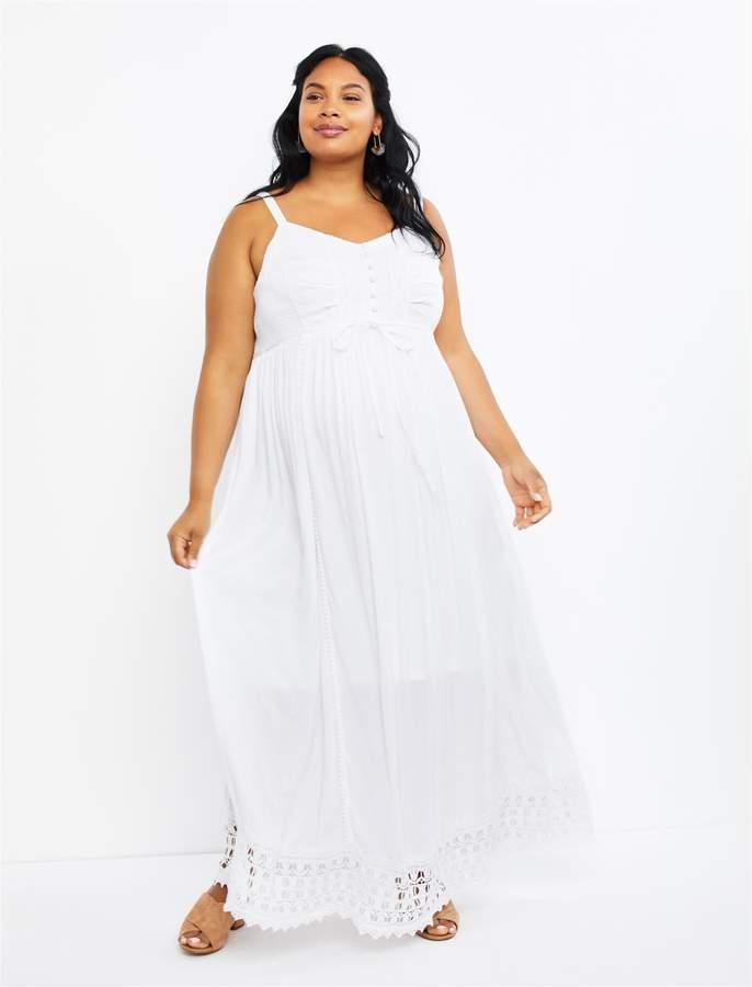 Crochet Maternity Dress Shopstyle