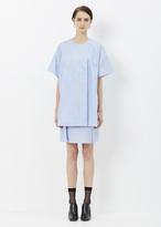Ports 1961 Lightsteel Blue Short Sleeve Dress