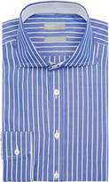 Jaeger Men's Cotton Regular Luxury Bold Stripe Shirt