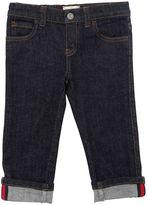 Gucci Stretch Denim Jeans W/ Web Detail