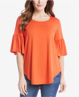 Karen Kane Bell-Sleeve T-Shirt