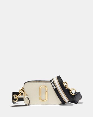 Marc Jacobs Women's White Leather bags - Snapshot Small Camera Cross-Body Bag - Size One Size at The Iconic