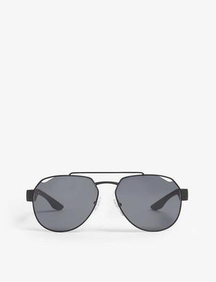 Prada Linea Rossa Linea Rossa aviator sunglasses